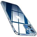 TORRAS ケース iPhone 12 用ケース iPhone 12 Pro 用ケース 6.1インチ 全透明 ソフト TPU 黄変防止 超耐衝撃 SGS認証 レンズ保護 薄型 アイフォン12 Pro 12用カバー 2020 クリスタル クリア Shiny Series