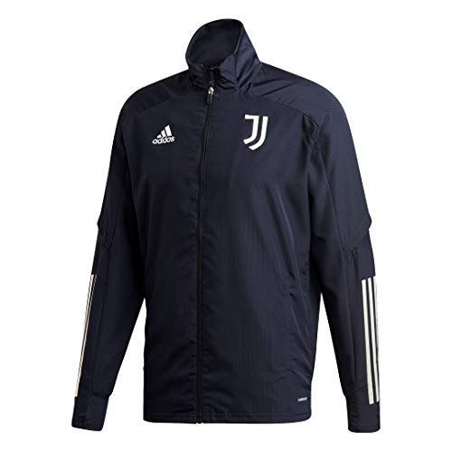 adidas Juventus FC Temporada 2020/21 JUVE PRE JKT Chaqueta presentación, Unisex, Legend Ink/Orbit Grey, XXL