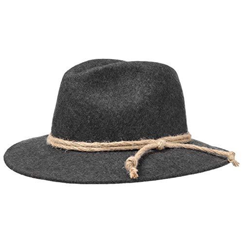 Lierys Tirolerhoed Dames/Heren - Made in Italy traveller hoed wollen voor wandelaar voor Herfst/Winter