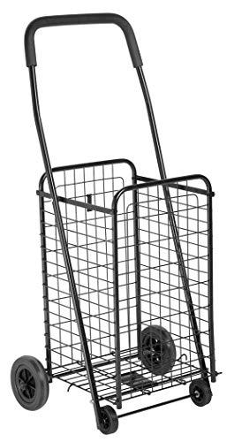 Honey-Can-Do RA49035 CRT-01511 4-Wheel Utility Cart, Medium, Multicolor