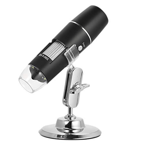 Tyannan Gulakey WiFi Chargeable Digital Microscope 1000X Zoom Magnifier Camera with 8 Led Stand for iOS Android