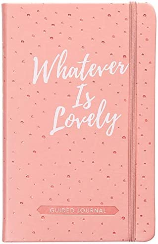 Whatever Is Lovely Guided Journal product image