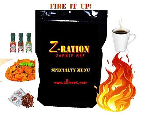 Z-Ration (Zombie MRE): SPECIALTY MENUS! Components