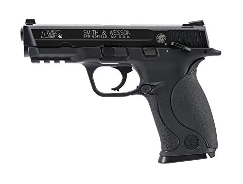 Smith & Wesson M&P 40 .177 Caliber BB Gun Air Pistol, Black, Standard Action
