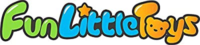 FunLittleToy Kids Beach Sand Toy Set, Beach Bucket, Car, Shovel, Rake, Sandbox Toys Kids Outdoor Toys 10 Piece