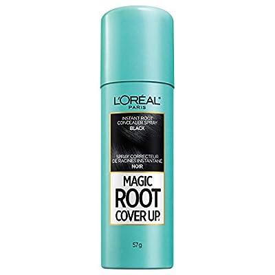 L'Oreal Paris Magic Root Cover Up Gray Concealer Spray Black 2 oz