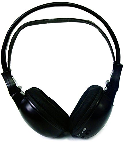Absolute USA AWH201 Dual Channel Infrared Wireless Stereo Headphone