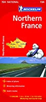 Northern France Map 724 (Michelin Regional Map)