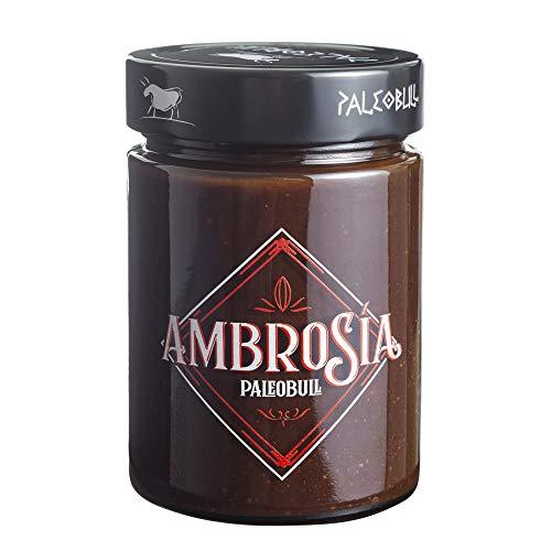 Crema de Cacao y Avellanas Saludable Ambrosía - Sin Azúcar