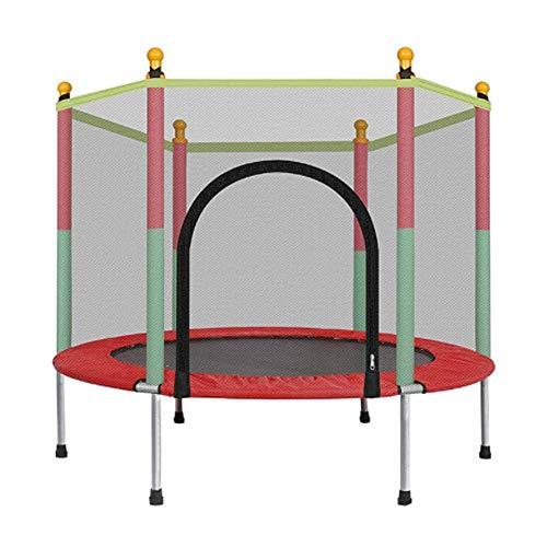 HJKLNJS Cama elástica para niños,Peso máximo 200 kg,Trampolín para Ejercicios, trampolín para Interiores y Jardines, Ideal para niños y Adultos