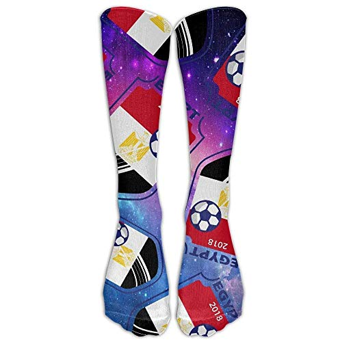 ruichangshichengjie 2018 Football Egypt Lover Men Women Crew Socks Comfort Long Socks Unisex