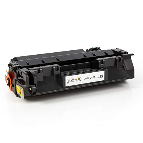 LINKYO Compatible Toner Cartridge Replacement for HP 80A CF280A (Black) Photo #4