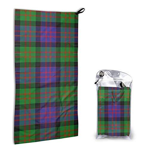 Toallas de mano para baño, ultra suaves y altamente absorbentes, toalla de baño de tartán escocesa, de Clan escocés, para uso diario, hogar, camping, gimnasio, 31,5 x 15,7 cm