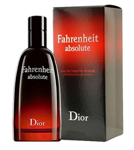 Fahrenheit Absolute - Eau De Toilette for Men Spray 100 ml