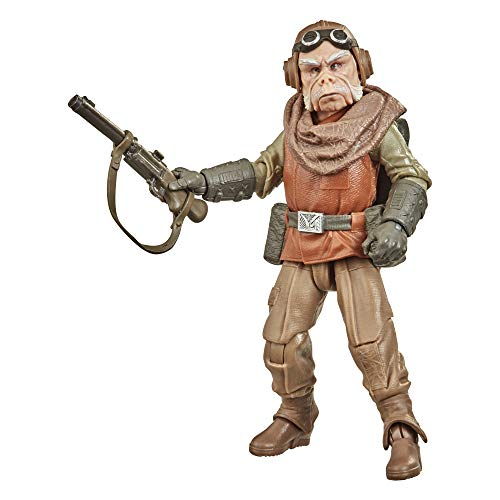 Star Wars The Black Series Kuiil Toy 6-Inch Scale The Mandalorian Collectible Action Figure, Toys For Kids Ages 4 and Up