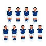 Abaodam 9 piezas de mesa de fútbol de la máquina de la muñeca de plástico de la mesa de futbolín de los hombres piezas de repuesto de los juegos de mesa de los niños Accesorios de plástico Muñecas