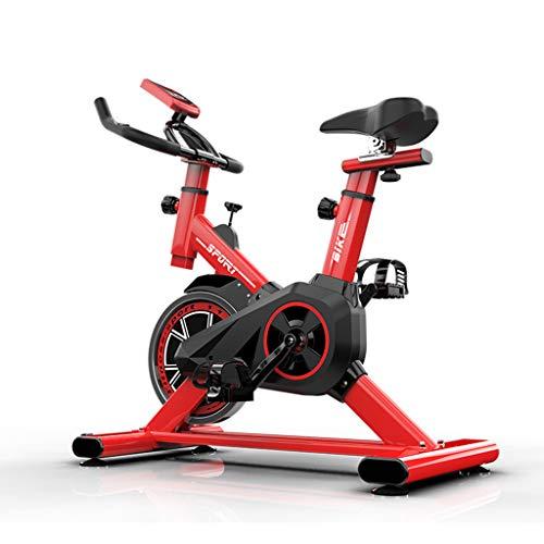 N/Q Upright Cyclettes -Piscina Studio Cicli Aerobic Training Fitness Cardio Bike con Display LCD -Cuore Rate Monitor Grande bidirezionale volano silenziosa Trasmissione a Cinghia, Resistenza Infinita