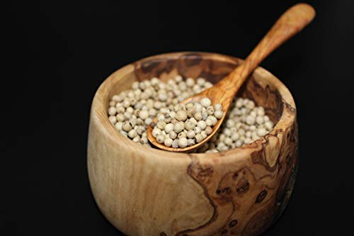 Nyama weißer Penja Pfeffer aus Kamerun, ganz, 50g