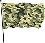 Viplili Flagge/Fahne, Camouflage Flag 3x5 Ft, Double Stitched Polyester with Brass Grommets 3x5 Feet Flags for Outdoor Indoor Home Decor