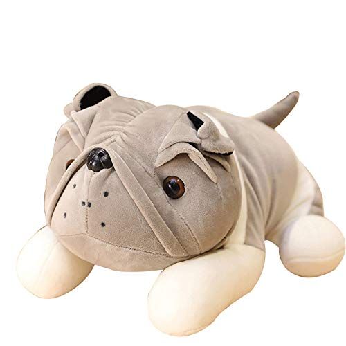N / A Simulación de Peluche de Juguete de Pug Peluche de Peluche Shar Pei Perro muñeca Suave Cachorro Almohada de Felpa Juguete para niños cumpleaños Novia 25 cm