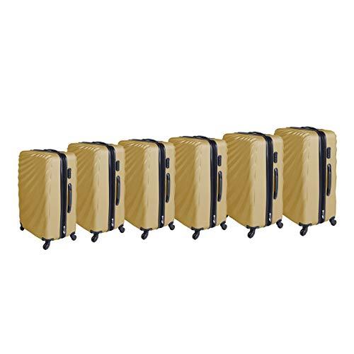 LEX kofferset, 6-delig, goud (goud) - 51026347_MC3074