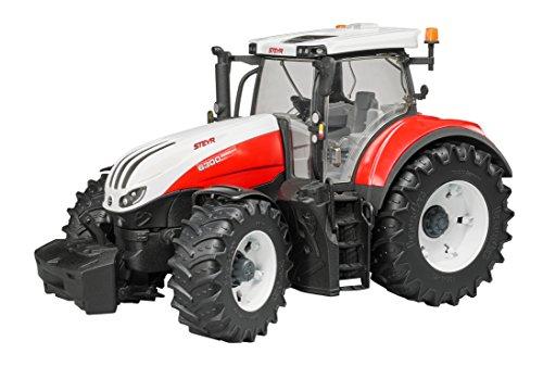 bruder 03180 Fahrzeug-Steyr 6300 Terrus CVT, Multicolor