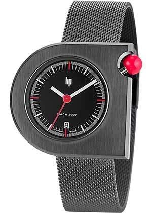Lip Homme Uhr Analogique QUARTZ mit Cuir Armband 671092