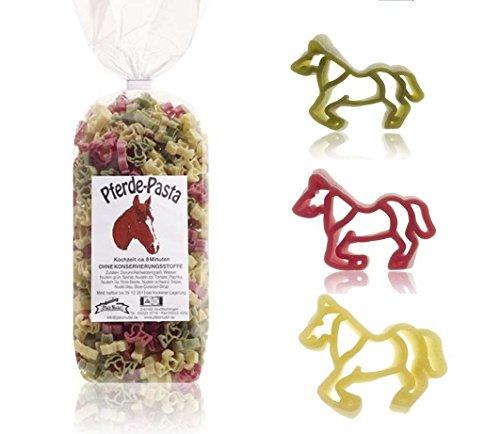 Pferde-Nudeln 500g Hartweizengrieß // Ideal für die Perdeparty