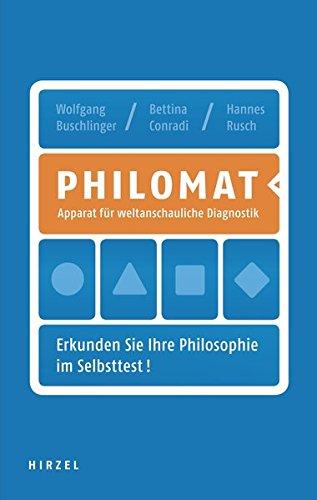 Philomat / Apparat für weltanschauliche Diagnostik. Erkunden Sie Ihre Philosophie im Selbsttest!
