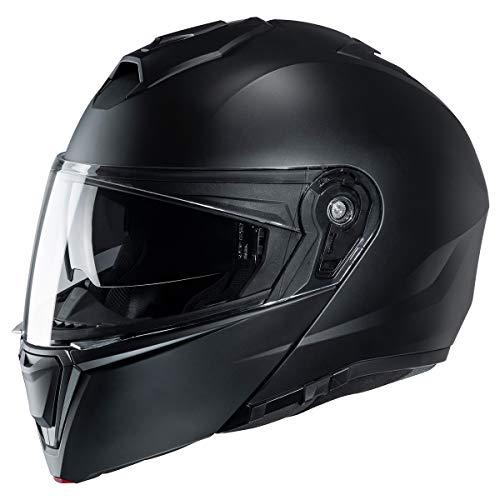HJC i90 Modular Motorcycle Helmet SF Black 4X-Large