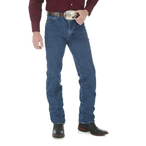 Wrangler Men's Cowboy Cut Slim Fit Jean Lavada a la Piedra. 28W x 34L
