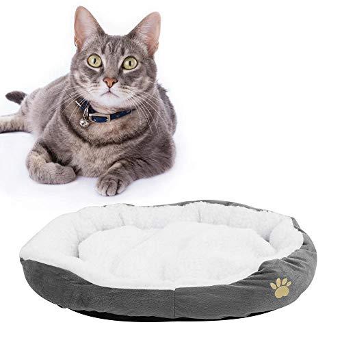 Redxiao~ 【𝐎𝐟𝐞𝐫𝐭𝐚𝐬 𝐝𝐞 𝐁𝐥𝐚𝐜𝐤 𝐅𝐫𝐢𝐝𝐚𝒚】 Alfombrilla para Perros, Cama para Mascotas Conveniente y práctica Alfombrilla cómoda y Suelta para Mascotas, Gatos para Perros(Gray, L)