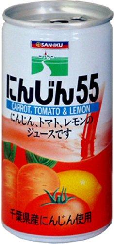 にんじん55 190g×30本 缶