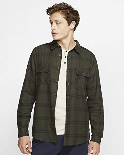 Hurley Men's Dri-FIT Salinger Long-Sleeve Top, Sequoia - Medium