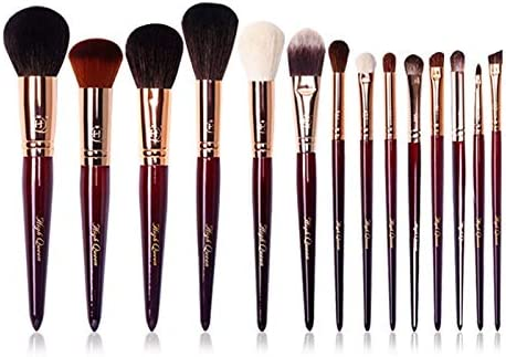 Make Up Brushes HQ 14Pcs Makeup Ca Goat Set Natural Spring new work one after Genuine Free Shipping another Hair