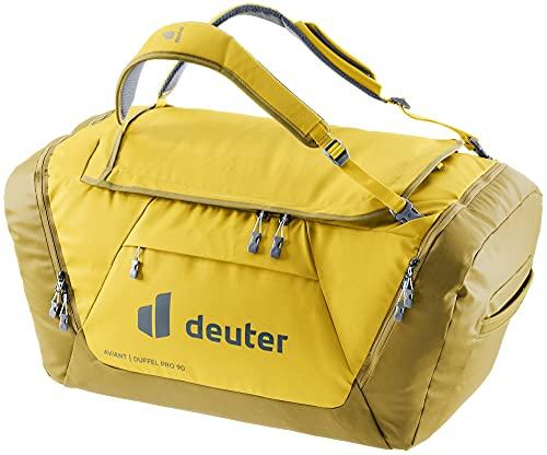 Deuter AViANT Duffel PRO 90, Borsa Sportiva Unisex-Adult, Corn-Turmeric, 90 L