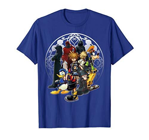Disney Kingdom Hearts Dark Squad T-shirt