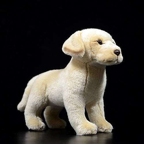 KXCAQ 20—25cm Realista Border Collie Peluches Cachorro Muñecos de Peluche Perro de la Vida Real Peluches para niños 20cm-25cm LabradorRetriever