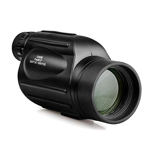 Svbony SV49 Monocular 13x50 Prisma Porro Telescopio Monocular Multicapa Foco Fijo Impermeable Alcance de Detección de Nitrógeno para Observación de Aves