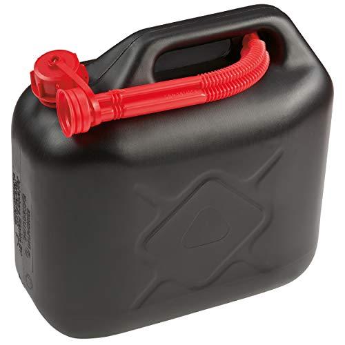 OBI Benzinkanister 10 l Schwarz | Kanister aus Polyethylen