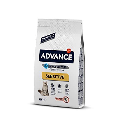 Advance Advance Sensitive Pienso para Gato Adulto con Salmón y Arroz - 3000 gr