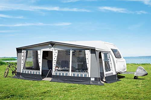 Vorzelt Florida 240 PVC, Reise- und Dauerstandzelt Vorzelte Wohnwagenvorzelt (Gr. 16, Umlaufmaß 1001-1030 cm)