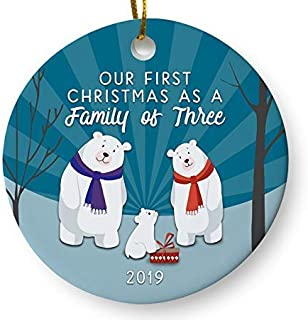 Best modern baby's first christmas ornament Reviews