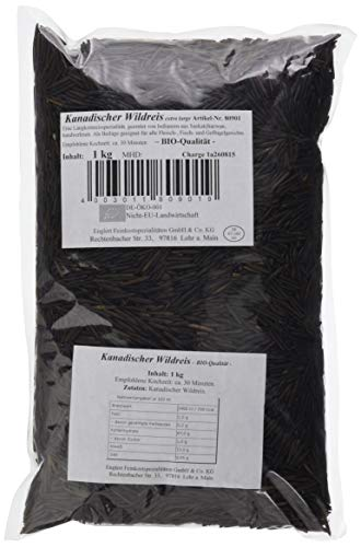 ENGLERT Kanadischer Wildreis/Beutel, 1er Pack (1 x 1 kg)