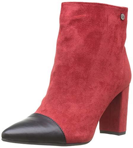 XTI 35101, Stivaletti Donna, Rosso (Rojo Rojo), 38 EU