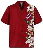KY´s Original Camisa Hawaiana, Wedding, rojo 4XL