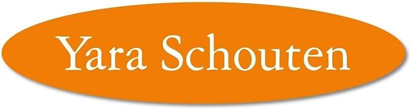 Naamplaatje oranje ovaal t.b.v. brievenbus, 12x4 cm