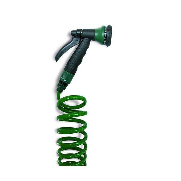 Natrain Manguera Espiral, Verde, 27.5×10.5×35 cm, Natrix10