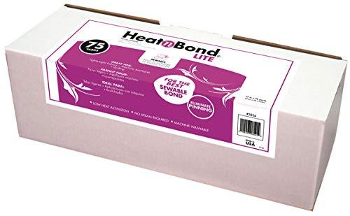 Thermoweb Chaleur N Bond Lite thermocollant Adhesive-White 17 x 75 Yd