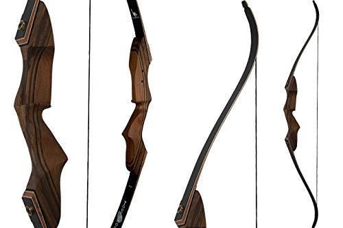 Jagdrecurvebogen Touchwood Scorpion RH 35 lbs